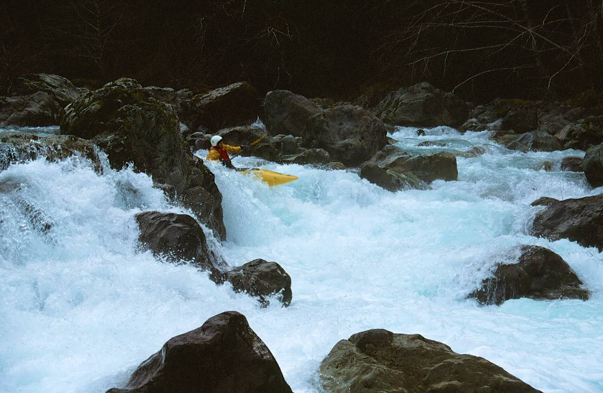 Rapid on the Upper South Fork of the Smith River