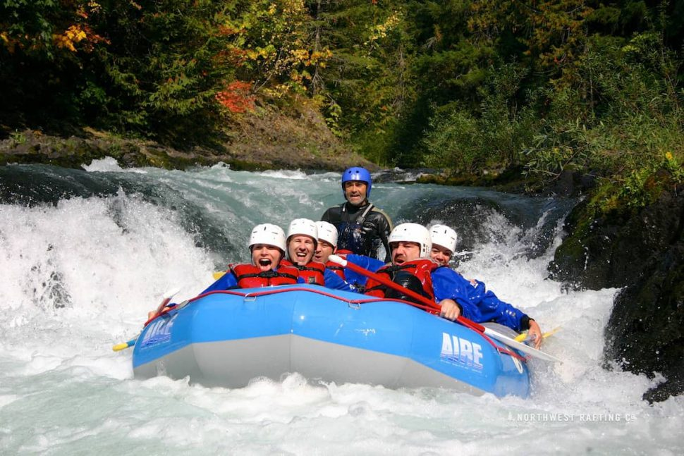 AIRE Raft on the White Salmon River