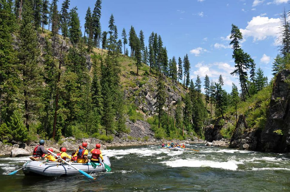Rafting the Selway River