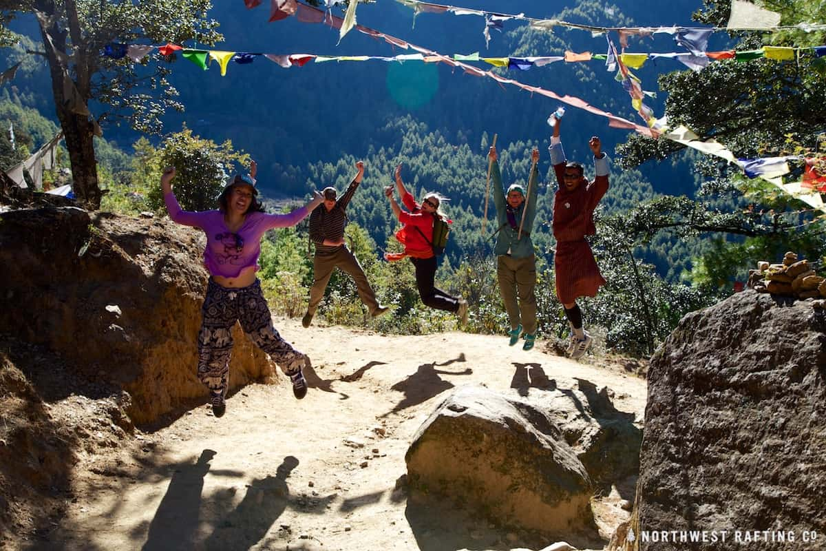 Trekking to Taktsang (Tiger's Nest) in Bhutan
