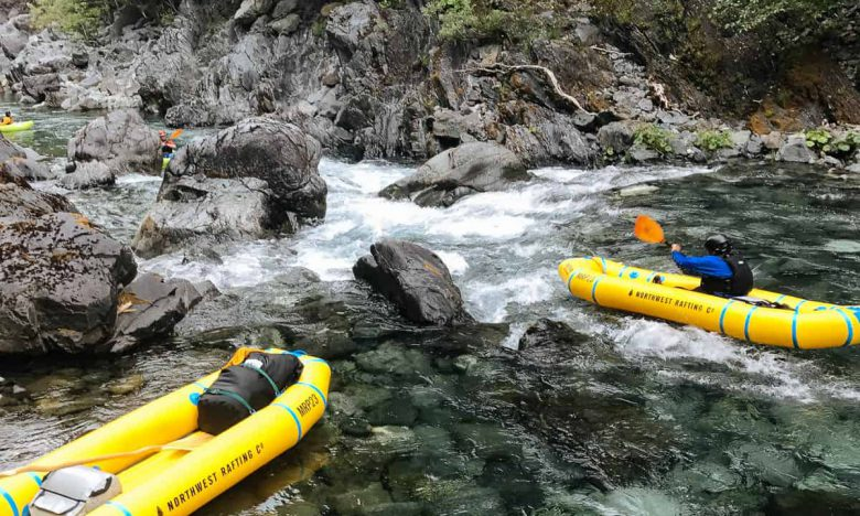 Kayaking the Chetco River